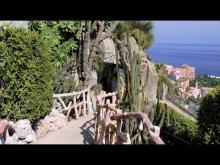 Jardin exotique de Monaco en vidéo